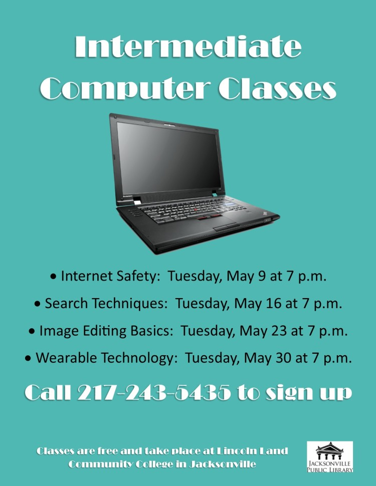 Intermediate Computer Classes
